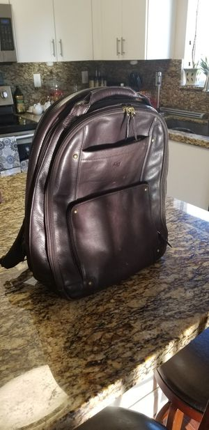 Leather Solo laptop/travel backpack for Sale in Miami, FL