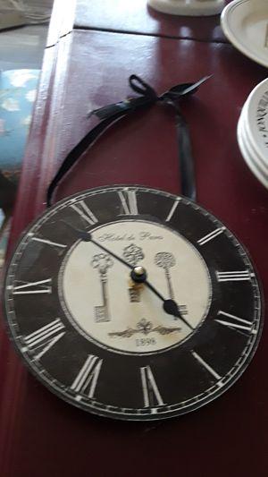 Antique look Paris clock for Sale in Santee, CA