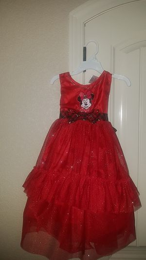 Disney Christmas dress 4T for Sale in El Paso, TX