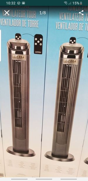 SIERRA 40 INCH TOWER FAN for Sale in Irvine, CA