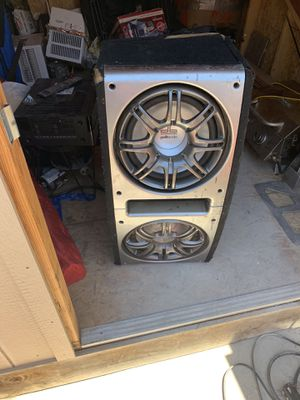 Polk audio speakers and crunch amp for Sale in Gilroy, CA
