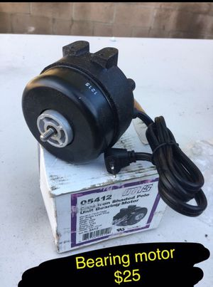 New bearing motor for Sale in Ontario, CA
