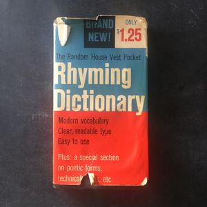 Vintage 1960 Rhyming Dictionary for Sale in Fort Pierce, FL