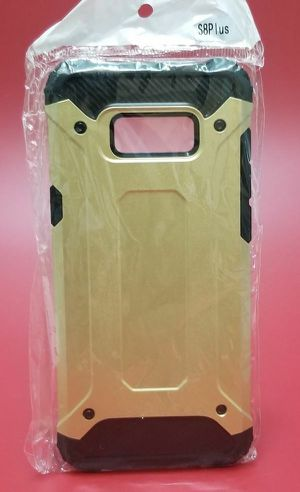 Samsung Galaxy S8 Plus Gold Armor Case for Sale in San Diego, CA