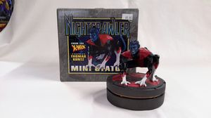 🔥MARVEL MINI STATUE: NIGHTCRAWLER FROM X-MEN SCULPTED BY THOMAS KUNTZ (2003, BOWEN ) LIMITED COMIC STATUE for Sale in Kent, WA