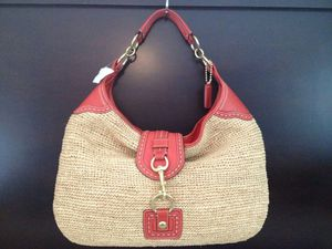 Coach Straw HoBo Bag New Rare for Sale in Columbia, MD