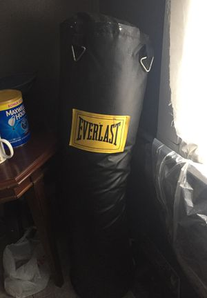 Everlast punching bag for Sale in Detroit, MI