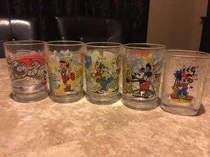 Disney glass collection for Sale in Chicago, IL