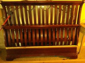 Brown Queen Size Bed Frame for Sale in Ocala, FL
