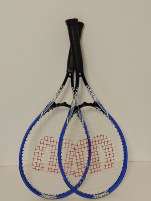 Pair of Wilson tennis rackets. Grips have light ware for Sale in Altamonte Springs, FL