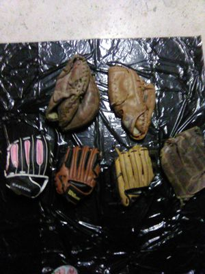 Used baseball gloves for Sale in Grand Junction, CO