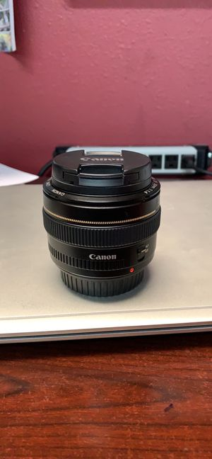 Canon 50mm 1.4 for Sale in McAllen, TX