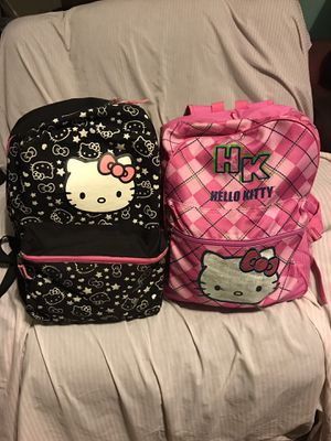 HELLO KITTY BACKPACKS for Sale in Lakewood, CA