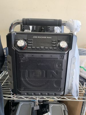 Ion Audio Job Rocket Max portable Audio Party Speakers 50 watts for Sale in Norwalk, CA