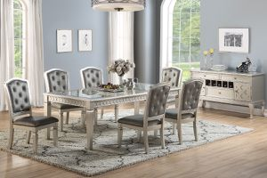 7 pc formal dining set for Sale in North Las Vegas, NV