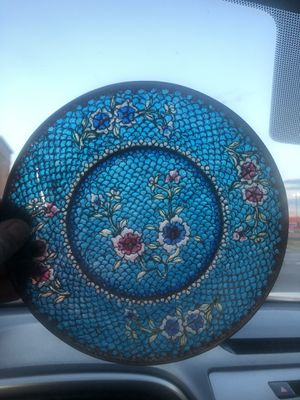 Stained glass plate for Sale in Hilliard, OH