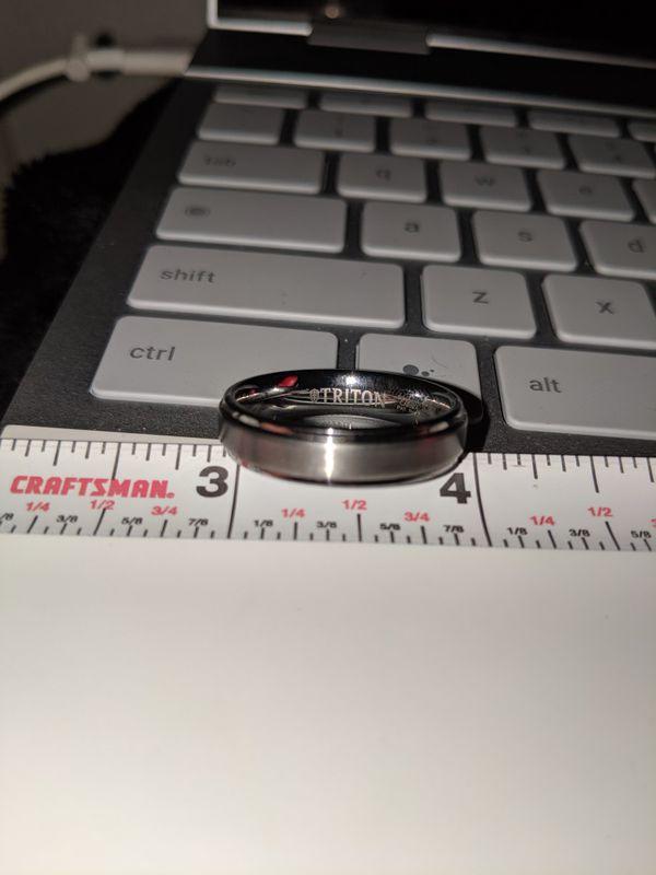 TriTon Tungsten Carbide Ring TC850