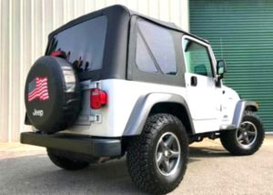 Asking $1200 Jeep Wrangler 2OO4 for Sale in Tippo, MS