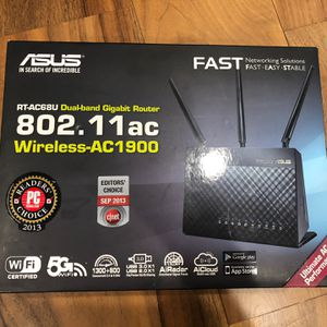 Asus RT-AC68U AC1900 Wireless AC Router for Sale in Granite Bay, CA