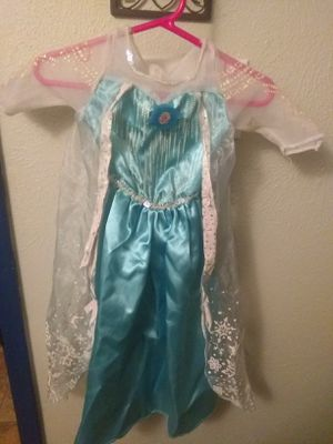 Frozen. Princess Elsa. Size XS. for Sale in Fort Worth, TX