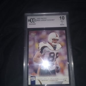 Bccg 10 2002 Pacific Jeremy Shockey Rookie Card for Sale in St. Petersburg, FL