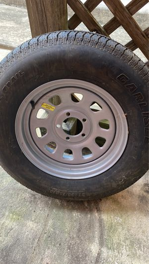 Brand new trailer tire and wheel for Sale in Georgetown, TX