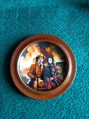 ⭐ GONE WITH THE WIND PLATE/ THE BURNING OF ATLANTA ⭐ for Sale in Oklahoma City, OK
