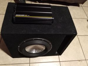 "FosgateT2 12"" sub & kicker amp1200.1 for Sale in Phoenix, AZ"