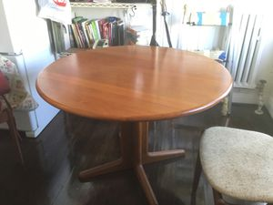 Solid teak kitchen table & chairs for Sale in San Francisco, CA