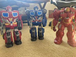 2 Large Transformers & Ironman (Battery operated) $25 for Sale in Chula Vista, CA