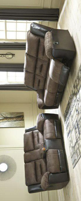 🍀In stock new brand/SPECIAL] Earhart Chestnut Reclining Living Room Set for Sale in Columbia, MD