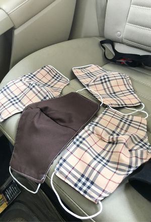burberry masks hand made for Sale in St. Clair Shores, MI