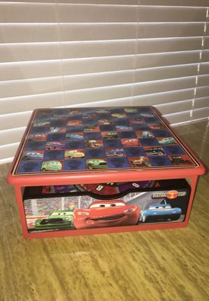 Disney Cars wood game box for Sale in Riverside, IL