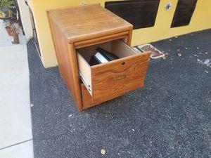 oak file cabinet for Sale in Vista, CA