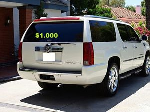 $10OO🔥 Very nice 🔥 2OO8 Cadillac Escalade Suv Runs and drive very smooth clean title!!!! for Sale in Oklahoma City, OK