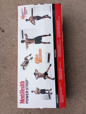 New in box 30 exercise power strip for Sale in Dallas, TX