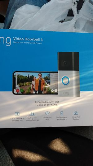 Ring video doorbell 3 for Sale in Newberg, OR