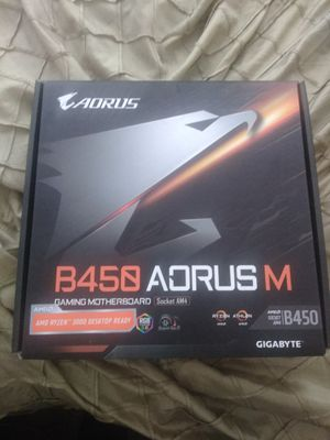 Aorus b450 mother for Sale in Los Angeles, CA