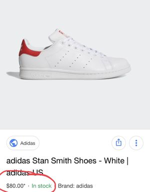 Adidas Stan Smith Womens Sneakers Size 10 for Sale in Miami, FL