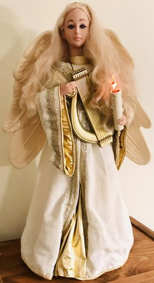 "VINTAGE 1995 Moveable Lighted 32"" Christmas Angel for Sale in Springfield, VA"