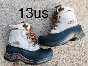 Kids snow boots, 13Us, The North Face for Sale in Denver, CO