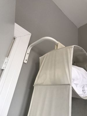 Wall mounted closet organizer and rod for Sale in New York, NY