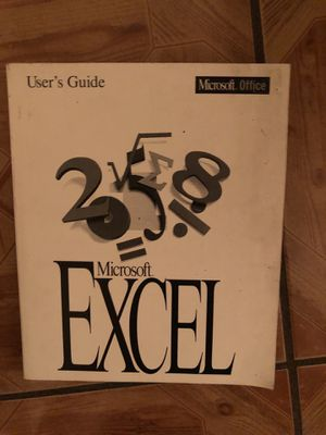 Microsoft Excel users guide for Sale in Anaheim, CA