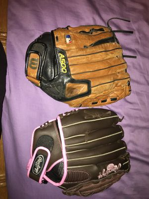 Male and female left hand gloves for Sale in Tampa, FL