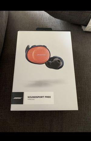 Bose Soundsport Free truly wireless. BRAND NEW!! MUST LOOK!!! for Sale in Seattle, WA