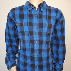 Duluth Trading Company Flannel Plaid Shirt Mens Size 3XL Button Down for Sale in West Columbia, SC