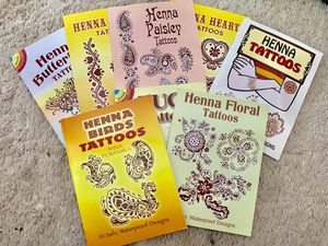 Lot Of 8 Henna Tattoos for Sale in San Diego, CA