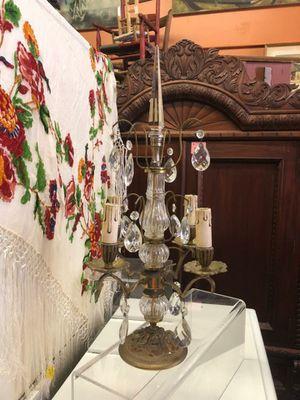 "Antique Gilded Table Chandelier...22""...$125 for Sale in La Mesa, CA"