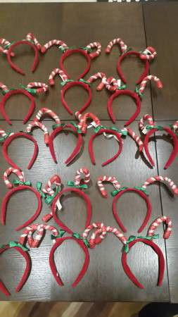 (16) New Candy Cane Headband Photo Props for Sale in Ashburn, VA