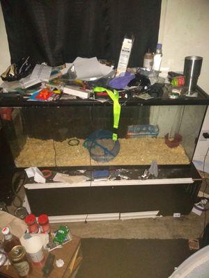 55 gallon aquarium for Sale in Lynchburg, VA